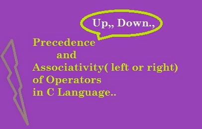 Precedence-and-Associativity-of-Operators-in-C language