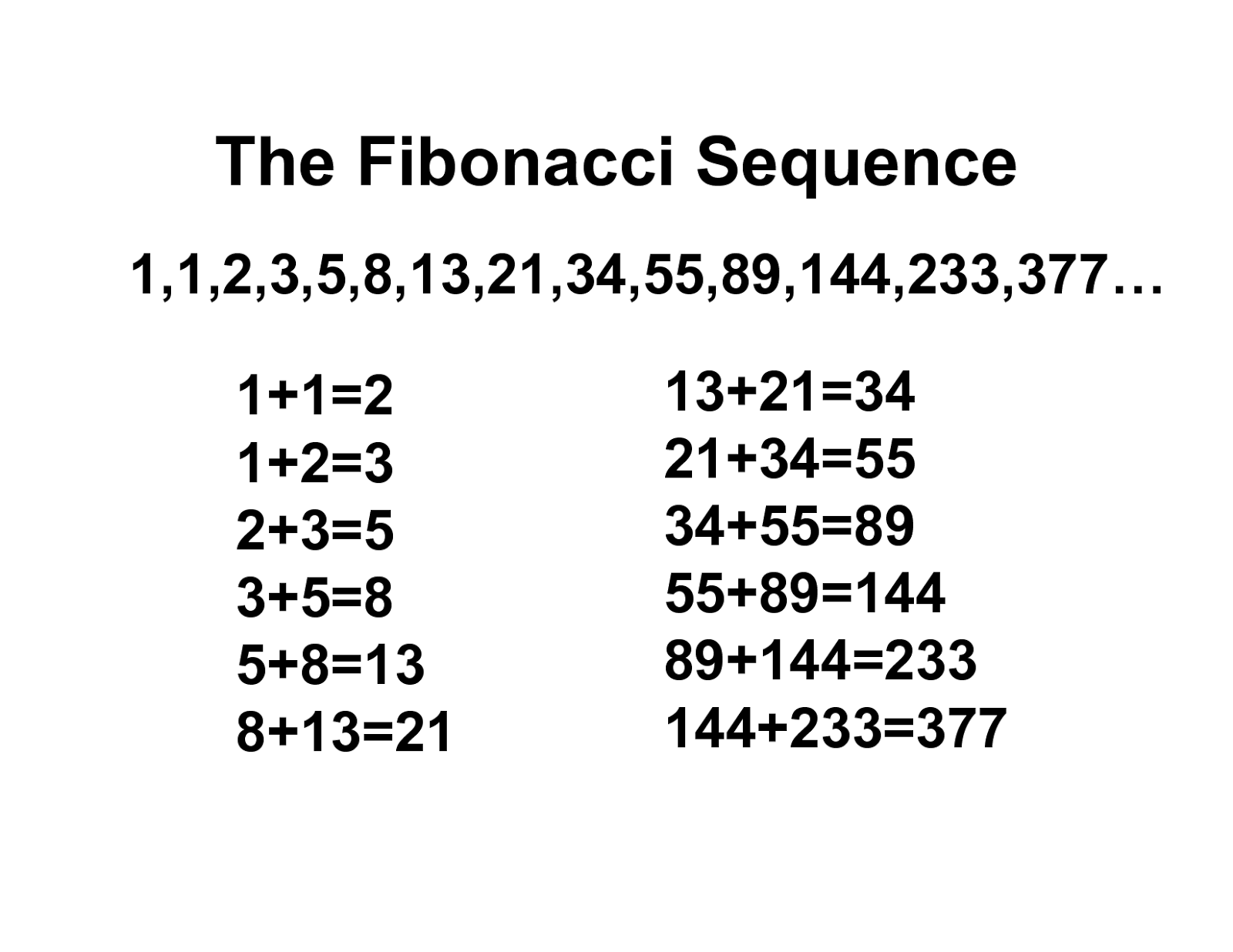 Fibonacci series program in C