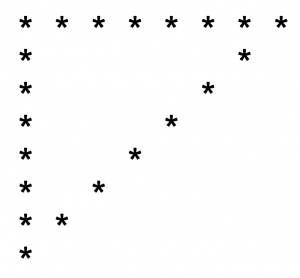 hollow-inverted-triangle-star-pattern-using-c