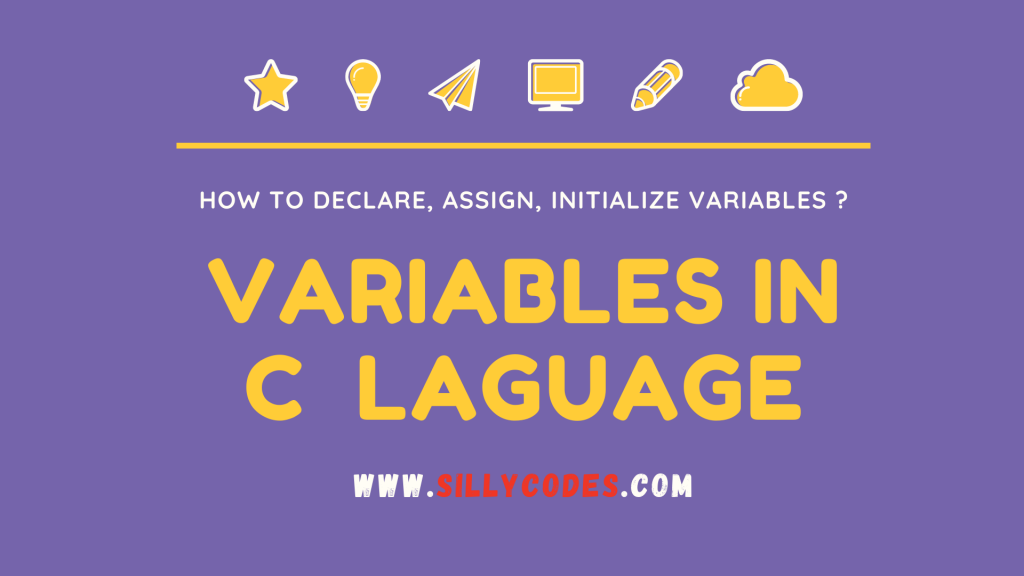 Variables-in-C-language-Declare-initialize-variables