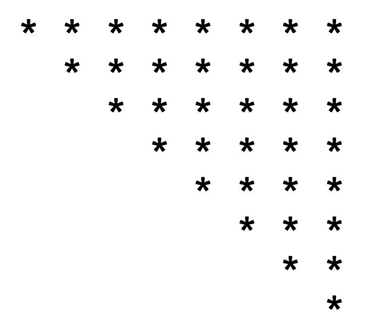 inverted-mirrored-triangle-star-pattern-in-c-programming