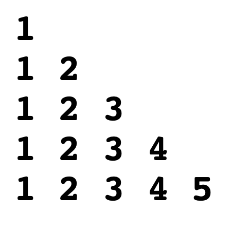 Triangle-number-pattern-in-c