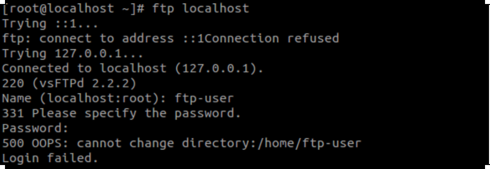 vsftp-500-oops-cannot-change-directory-error-solution