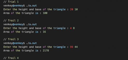 Area-of-Triangle-Program-in-C-with-Algorithm